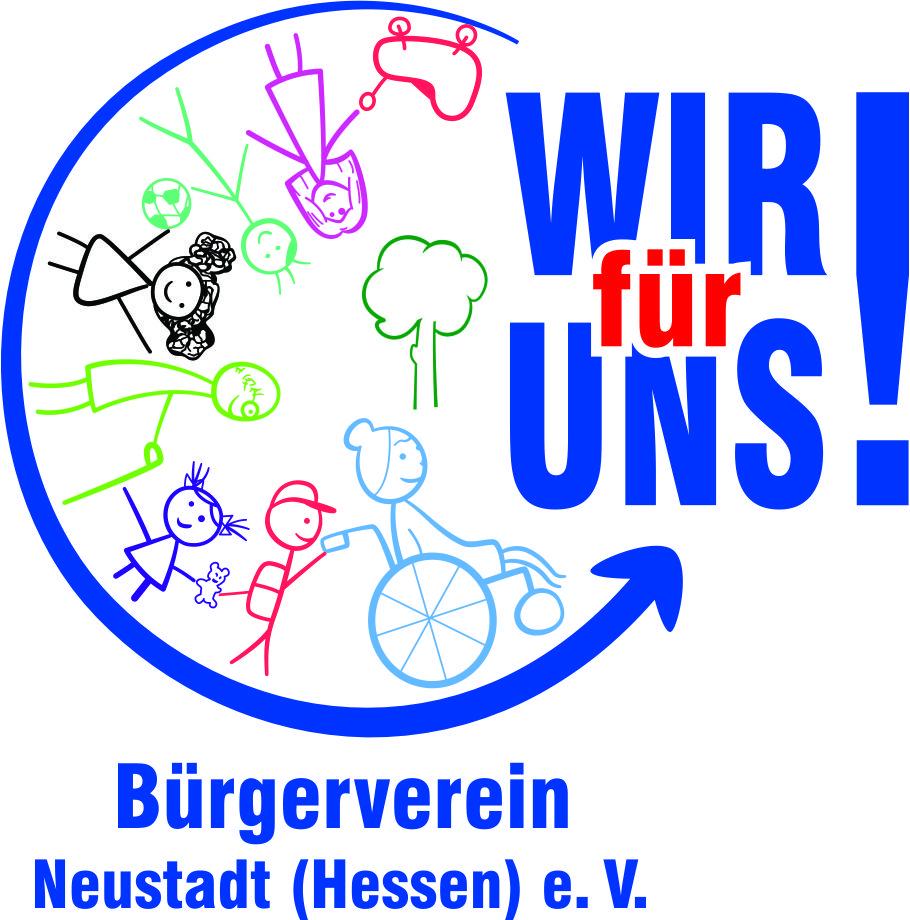 WIR für UNS! Bürgerverein Neustadt (Hessen) e.V. Logo
